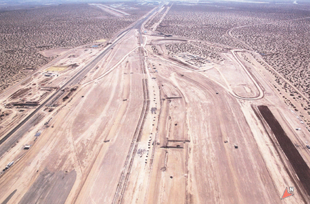 Aerial of the Union Pacific site.