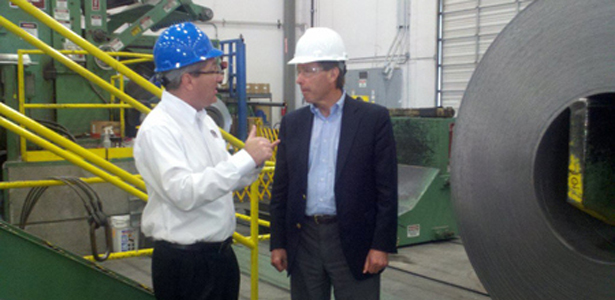 IBA Client, Southwest Steel Coil, Named SBA 2013 Exporter of the Year